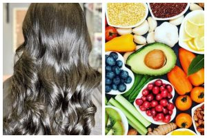 Important foods for lustrous hair
