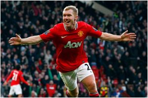 Got a call from Inter Milan once but never felt the need to move: Paul Scholes