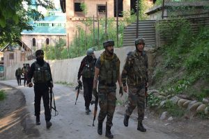 Two terrorists, an associate killed in encounter with security forces in J-K's Pulwama