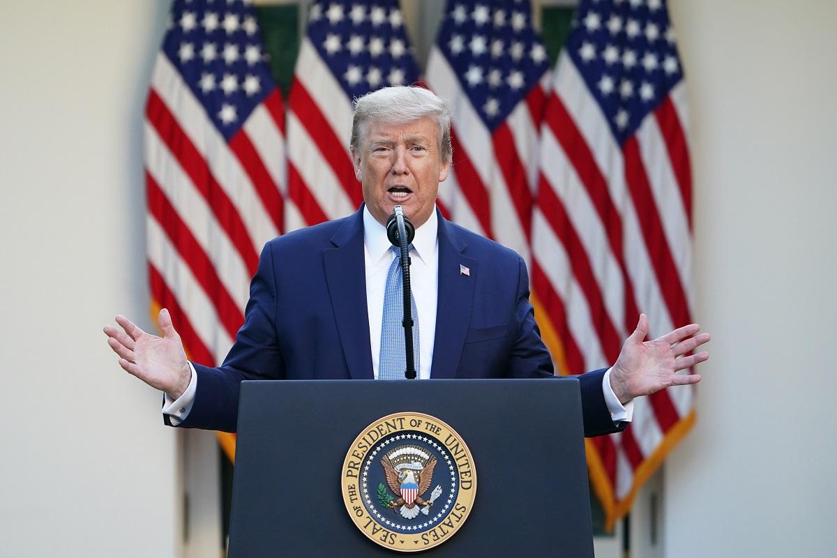 Trump's puerile humour, United States of America, Donald Trump, coronavirus
