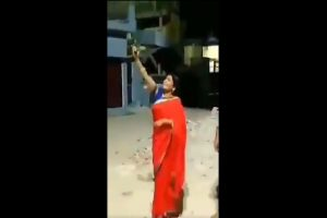 'I felt like it was Diwali': Woman BJP leader in UP fires in air to mark PM Modi's '9 pm 9 minutes' call