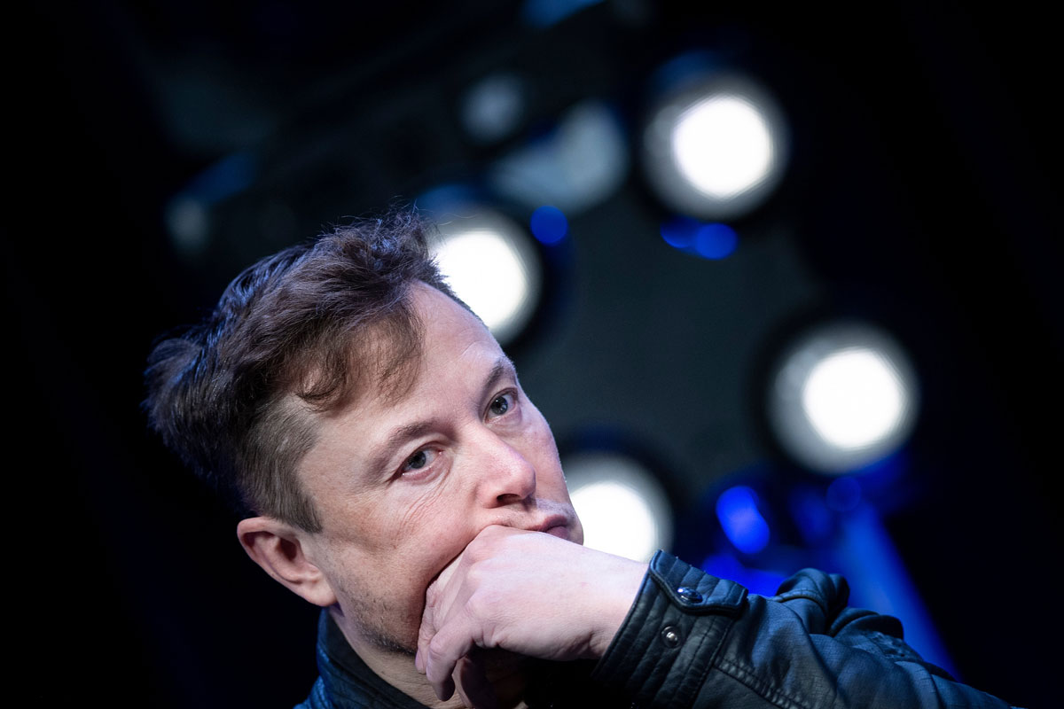 Elon Musk Tweets Tesla's Stock Price Is Too High