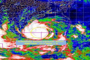 Cyclone Amphan to bring heavy rainfall in West Bengal on 20 May