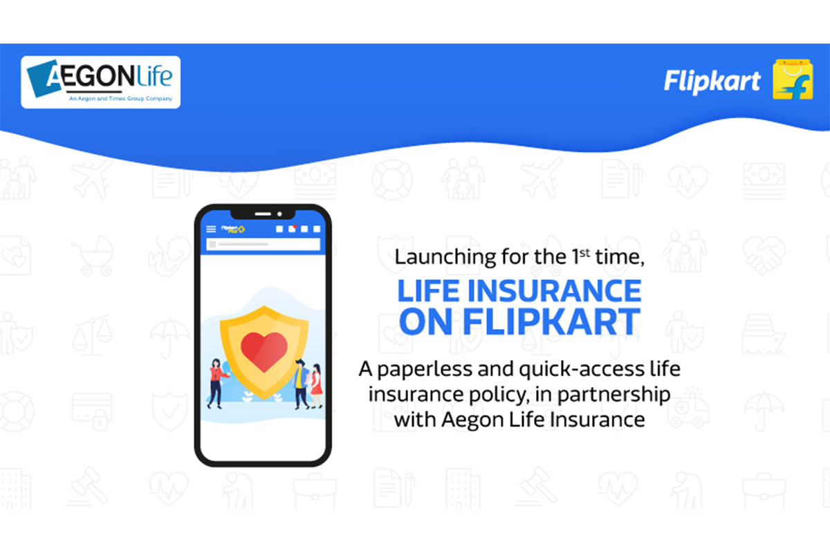 Aegon life insurance, Flipkart, life insurance, health policy