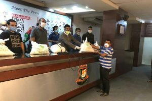 Bangladesh Cricket Board offers grocery to needy amid COVID-19 crisis