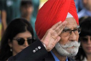 Hockey legend Balbir Singh Sr cremated with state honours