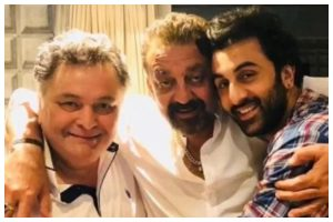 'He has always been an elder brother to me,' Sanjay Dutt opens up on late actor Rishi Kapoor