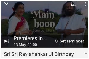 Asha Bhosle debuts on YouTube with a new track 'Main hoon'