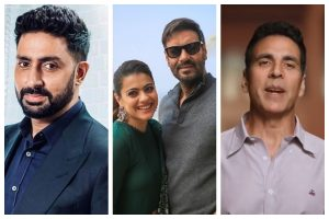 Kajol, Ajay Devgn, Akshay Kumar and others relive 90s' on Twitter
