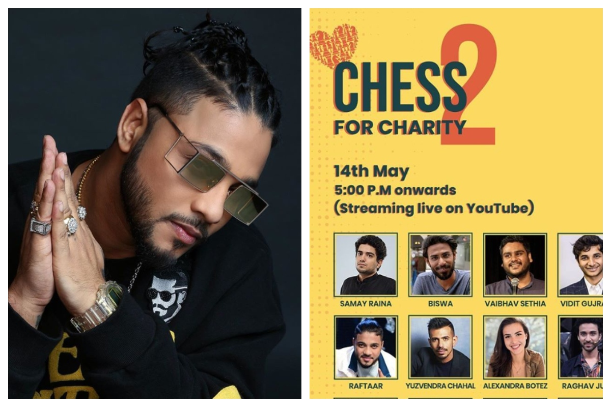 Raftaar, Background dancers, Chess For Charity