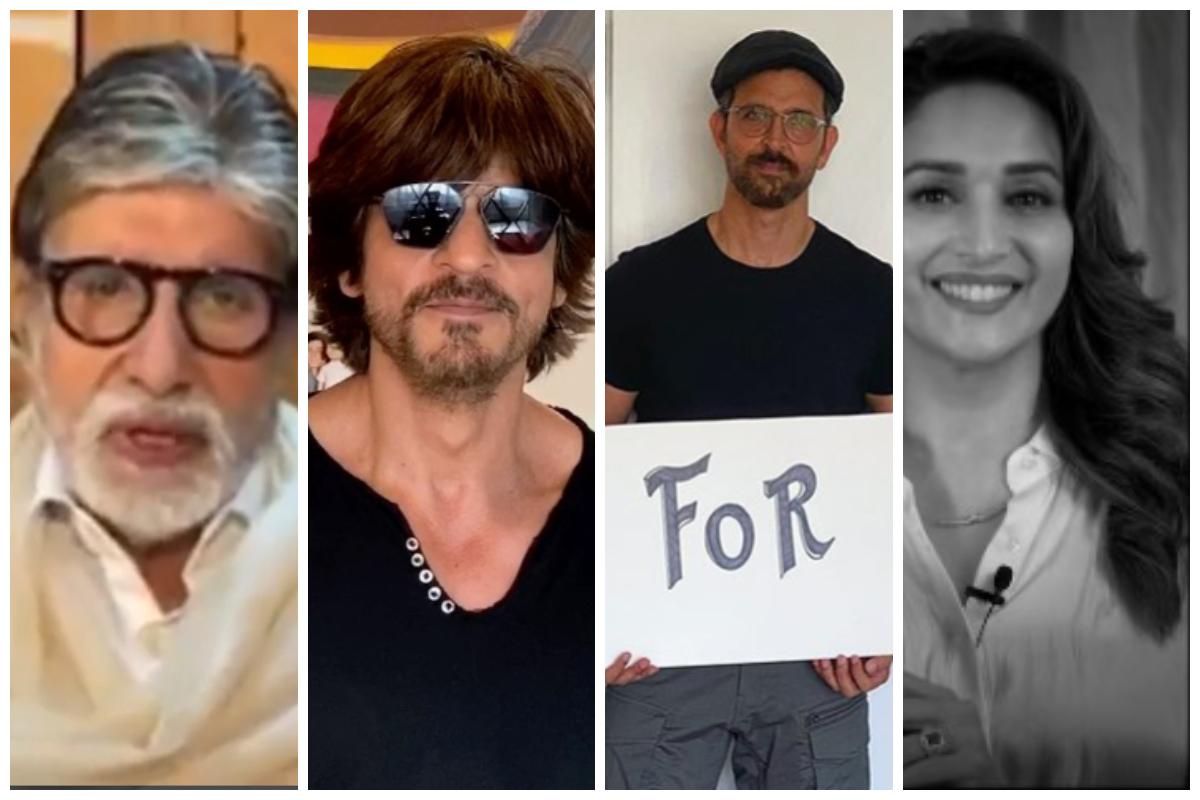 Amitabh Bachchan, I For India, Shah Rukh Khan, Aamir Khan, Hrithik Roshan