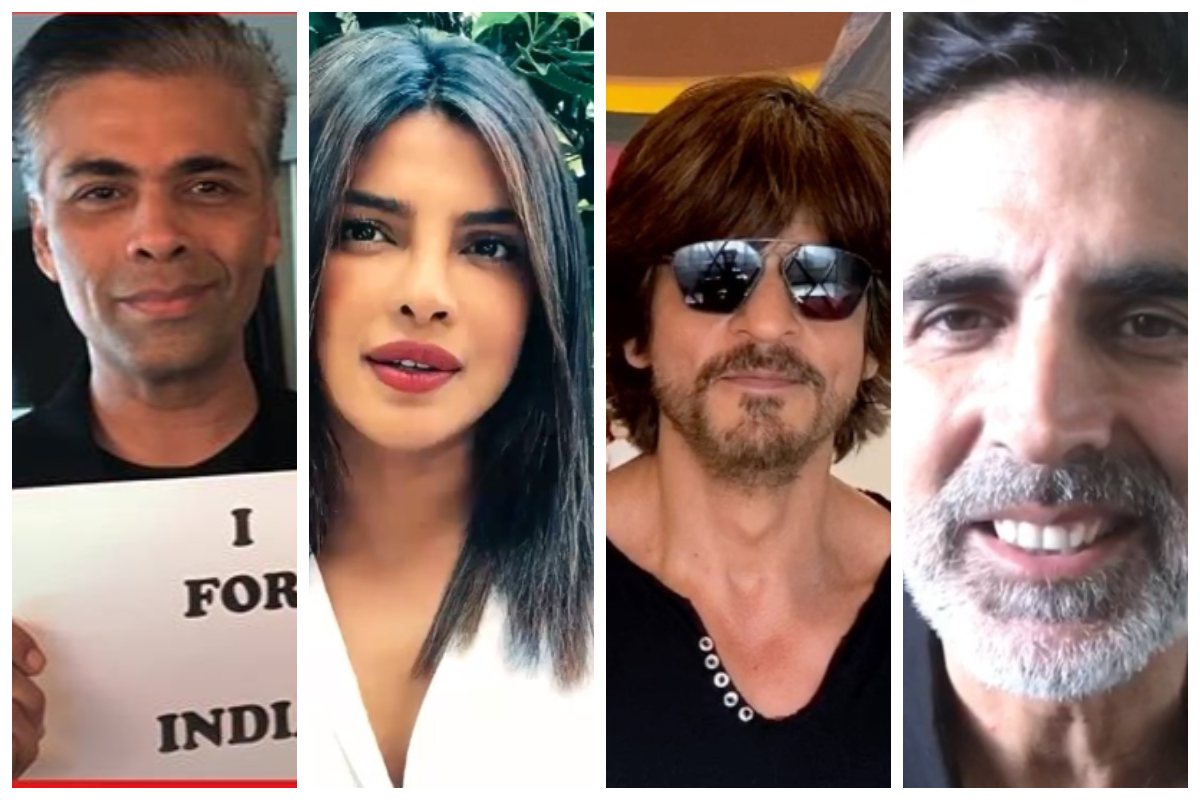 I for India, Karan Johar, Shah Rukh Khan, Priyanka Chopra Jonas