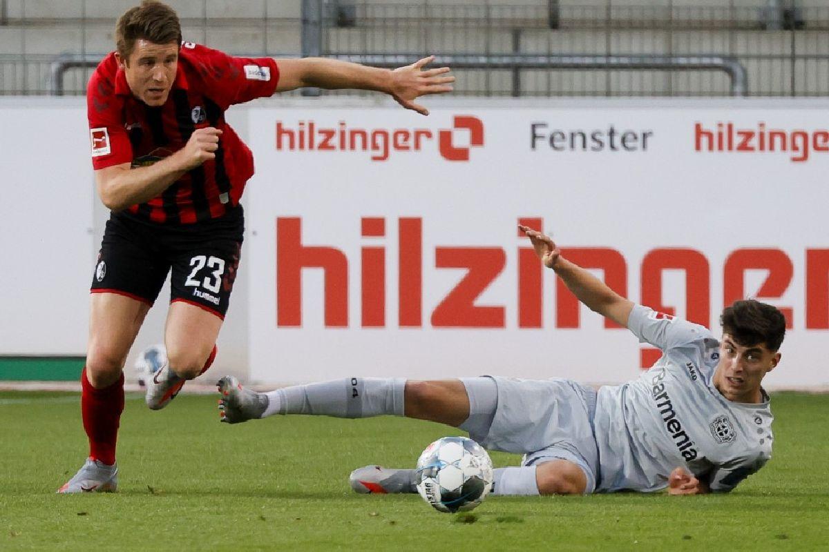 Kai Havertz, Bundesliga, Leverkusen, Freiburg