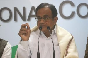 P. Chidambaram arrives in Goa, to work out strategy for 2022 polls