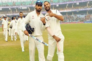 Murali Vijay is 'like my wife': Shikhar Dhawan