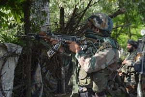 Colonel, Major among five security personnel killed in encounter with terrorists in J-K's Handwara