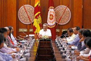 Sri Lanka President optimistic over re-building COVID-19 affected economy
