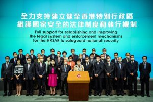 Hong Kong to adopt national security law 'as soon as possible': Carrie Lam