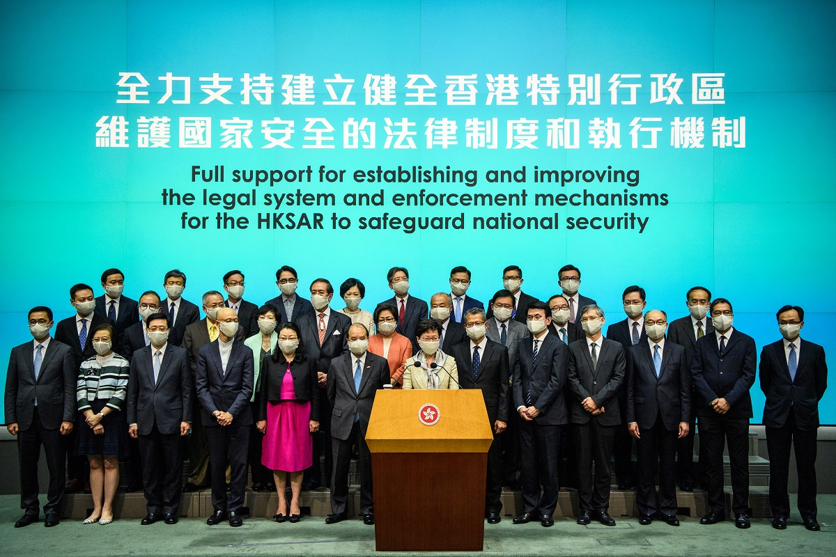 Hong Kong to adopt national security law 'as soon as possible ...