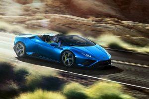 Lamborghini digitally unveils new Huracán EVO Rear-Wheel Drive Spyder
