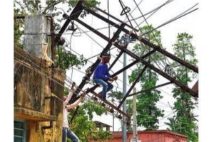 Local youths step in to restore services in cyclone-hit village