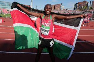 Kipruto is Kenya's hope to end 10,000m jinx at Olympic Games