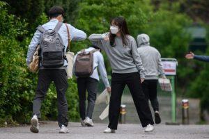 South Korea sees biggest jump in virus cases in 7 weeks