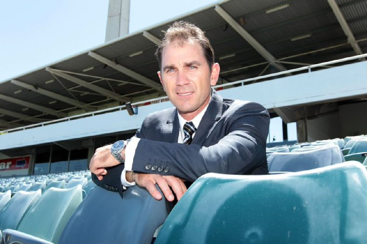Justin Langer, Ashes Series 2001, Adam Gilchrist