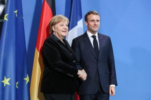 COVID-19: Angela Merkel, France President Macron propose $543 bn recovery fund