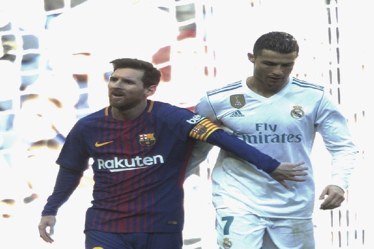 Edilson, Cristiano Ronaldo, Lionel Messi