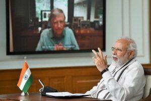 PM Modi, Bill Gates discuss COVID-19 situation, vaccine to treat pandemic