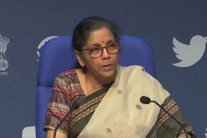 Sitharaman announces easing of restrictions on utilisation of Indian air space