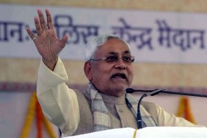 Youths ask EC to allow Nitish continue as CM for another term on basis of his past performance