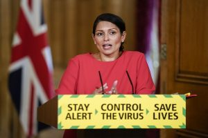 UK Home Secretary to impose quarantine on new arrivals as COVID-19 deaths rises to 36,393