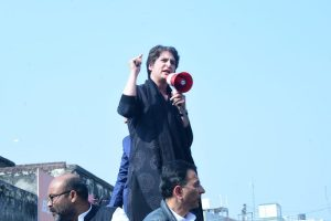 Amid row over buses for migrants, case against Priyanka Gandhi aide, UP Congress chief