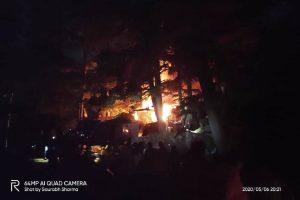 Major fire breaks out in Shimla near former CM Virbhadra Singh's residence