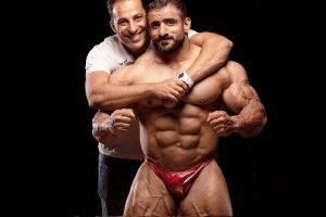 Mahdi Parsfar is changing the face of Iranian bodybuilding by taking it to a global level