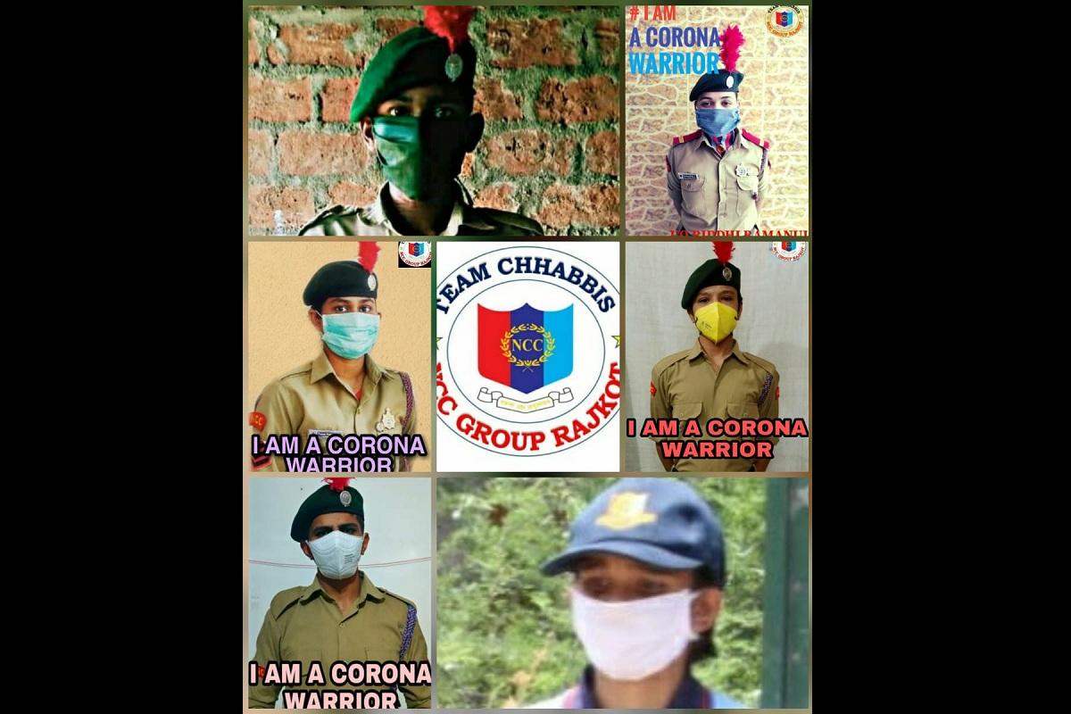 NCC, Corona Warriors, Una district, Shimla, Himachal Pradesh, Himachal