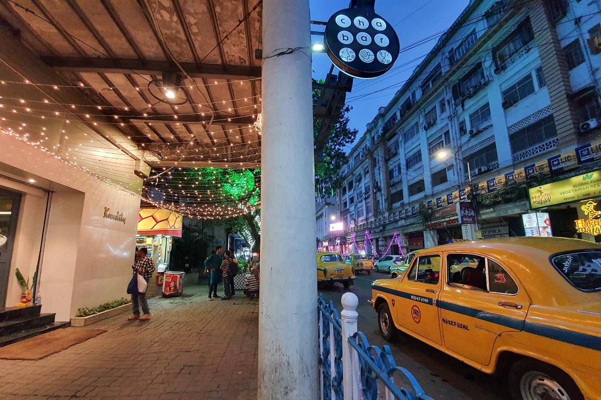 Park Street, Kolkata, coronavirus, Lalbazar, Loudon Street