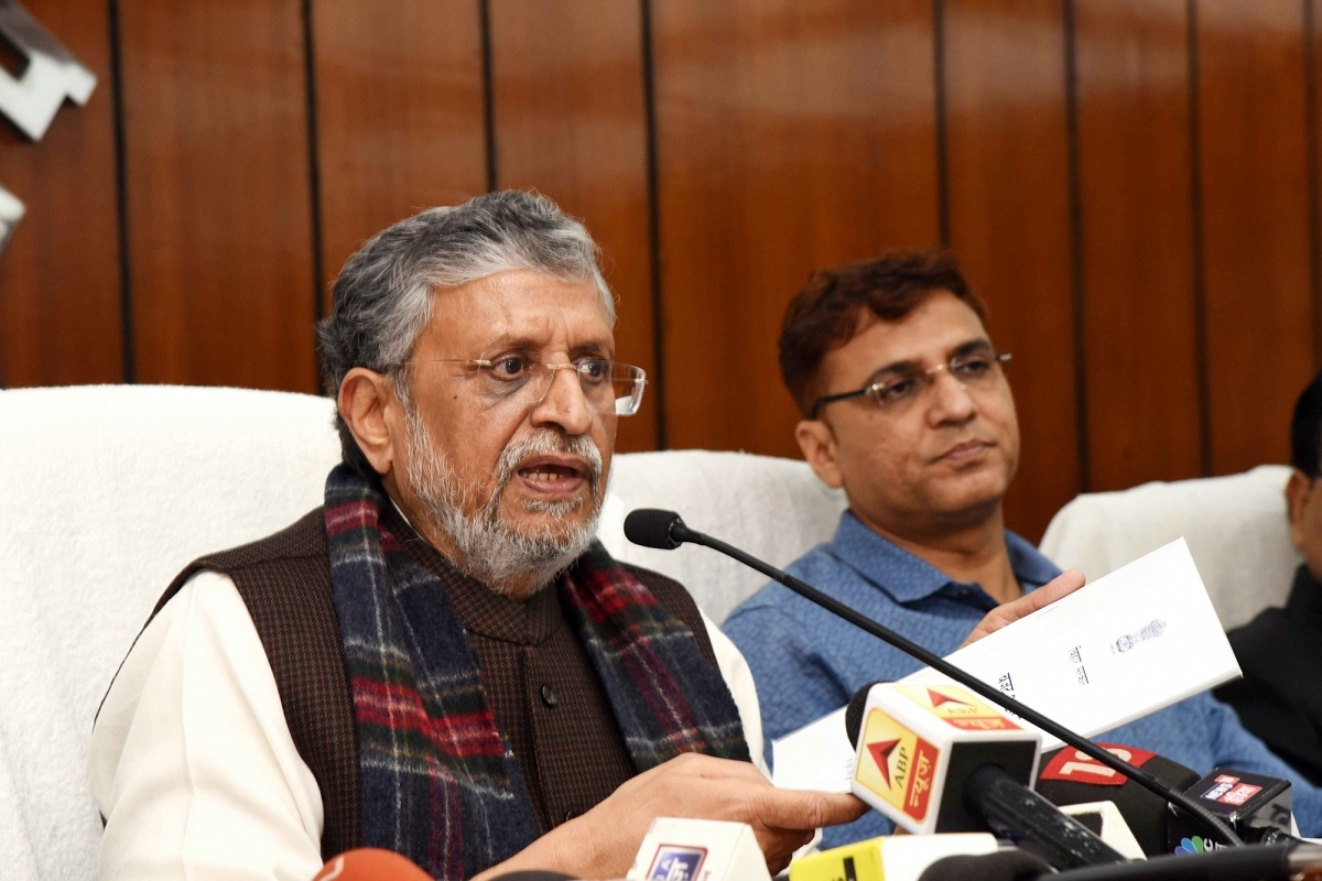 Bihar, Patna, BJP, Sushil Kumar Modi, Corona