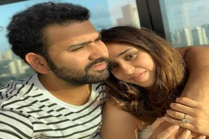 Rohit Sharma pens emotional note for wife amid COVID-19 crisis
