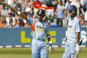 Would've scored 4000 more runs with 2 new balls: Sourav tells Sachin