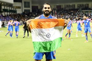 Playing in front of empty stands won't affect my performance: Sandesh Jhingan