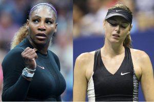 Serena, Sharapova to take part in charity virtual tennis event