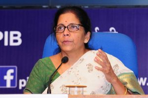 LIVE | Global tenders to be disallowed up to Rs 200 Cr; statutory PF contribution slashed to 10%: Sitharaman