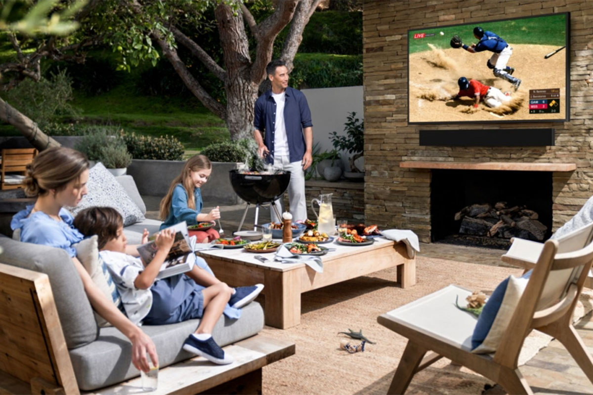 Samsung's first outdoor TV is called The Terrace and starts at $ 3500