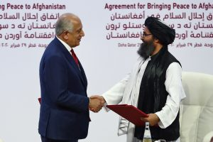 US envoy Zalmay Khalilzad meets Taliban in Doha, discusses peace deal