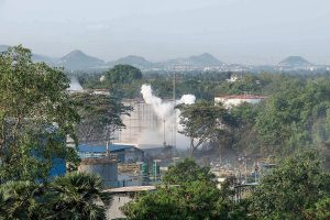 Vizag gas leak: 8.3 tonnes of chemicals needed to control toxicity airlifted from Gujarat