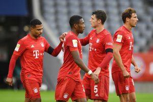 Bayern Munich inch closer to Bundesliga 2019-20 title with 5-0 thrashing of Dusseldorf