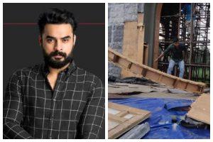 Malayalam film 'Minnal Murali' set vandalised by right wing group in Kerala; CM warns of tough action